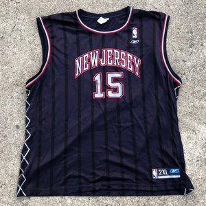 Reebok Vince Carter Nets Jersey size 2xl